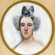 Portrait Miniature Lady