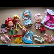 SALE 4 Strawberry Shortcake Figures & Accessories