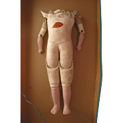 "REDUCED 16"" Old Kid Doll Body"