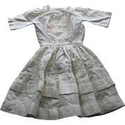 SOLD Old Doll Dress -  As Is