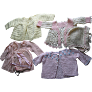 4 Baby- Doll Sweaters and Hats