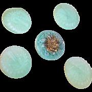 SOLD Czech Glass Buttons