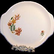 Salem China Autumn Leaves Platter