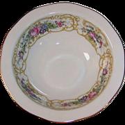 "Baronet China: ""Plaza"" Rimmed Cereal Bowl 6 1/4"""