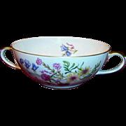 """Bavarian Baronet China; """"Elena"""" Cream Soup Bowl"""