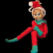 "Vintage Long Legged 12"" Tall Knee Hugger Elf"