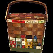 SALE PENDING Vintage Caro-Nan Basket Purse
