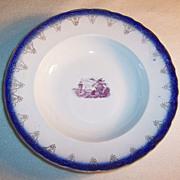 """SALE (Set of 2) Flo Blue Soup Bowls 9 1/4"""""""