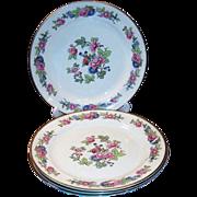 SET of 4: Laughlin Bristol Dinner Plates