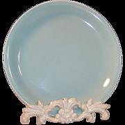 "7"" Homer Laughlin Jubilee Salad Plate Celadon Green"