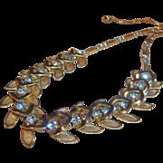 Hearts & Rhinestones Vintage Choker Necklace