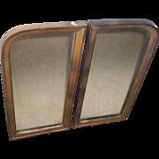 TWO Vintage Vanity Mirrors