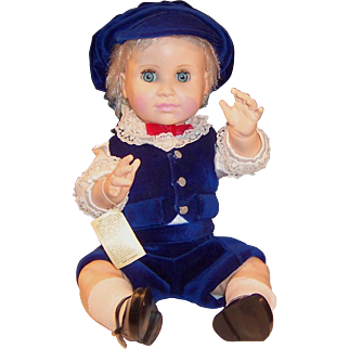 "18"" Royal Nisbet Baby Doll; Prince William in His Sunday Best"