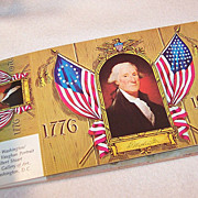 Vintage Collection Book of Patriotic Post Cards
