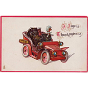 Antique Tuck's Thanksgiving Postcard