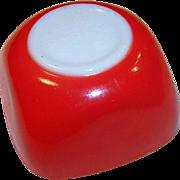 Pyrex Red 7 ounce Ramekin