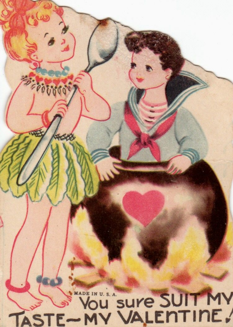 Vintage Unused Love Potion Valentine