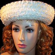 SOLD Winter White Randi Originals Women's Straw Hat