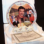 SALE The Young & The Restless: VICTOR'S EMPIRE Collector's Plate