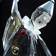 "SALE "" MASQUERADE""-PIERROT Edition 1999 Swarovski Cristal Figurine"