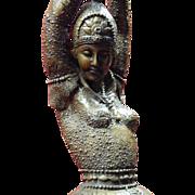 SALE Art Deco Bronze /Brass Ballet Russe Dancer Statue