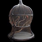 REDUCED Antique Victorian Decorative Bird Cage
