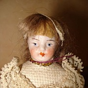 Very Young Girl Doll House Doll