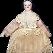 Tiny Round Face China doll