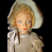 Petite Lenci Tagged Boudoir Doll