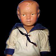Schoenhut Young Boy Doll Walker