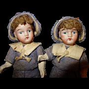 German Bisque Twins all Original295