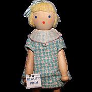 Schoenhut Beauty Pinn Doll