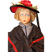 Lenci Boudoir Bed Doll a/o