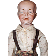Bisque Character Boy Doll