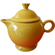 Lovely-Homer Laughlin-Fiesta-Tea pot