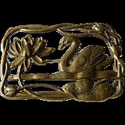 Vintage- Swan -pin
