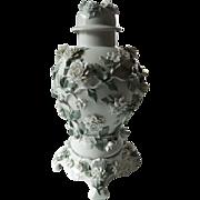 SALE Outstanding- Dresden-applied Flower Urn-SALE item