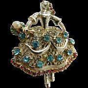 SALE 1950'S- Ballerina- pin