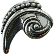 Exquisitely designed- Sterling Margo De Taxco- sterling Pin
