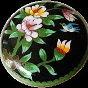 SALE Wonderful- vintage cloisonne enameled Box