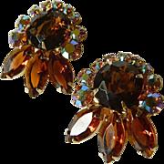 Gorgeous sparkling Juliana earrings