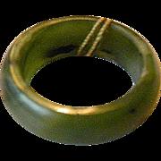Elegant- natural  jade ring
