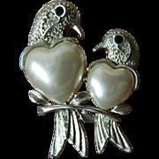 SALE Very beautiful-Two love birds Pin