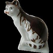 Porcelain cat figure- Franklin Mint