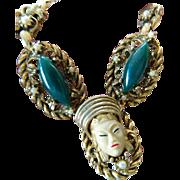 SALE Selro- face Necklace