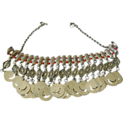 Exquisite- Sterling silver Tribal necklace
