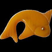 Bakelite Fish pin