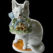 """German porcelain """"Cat"""" figure"""