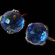 Briochette cut glass stones Earrings