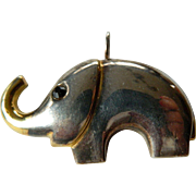 Artists made-Silver pin/pendant